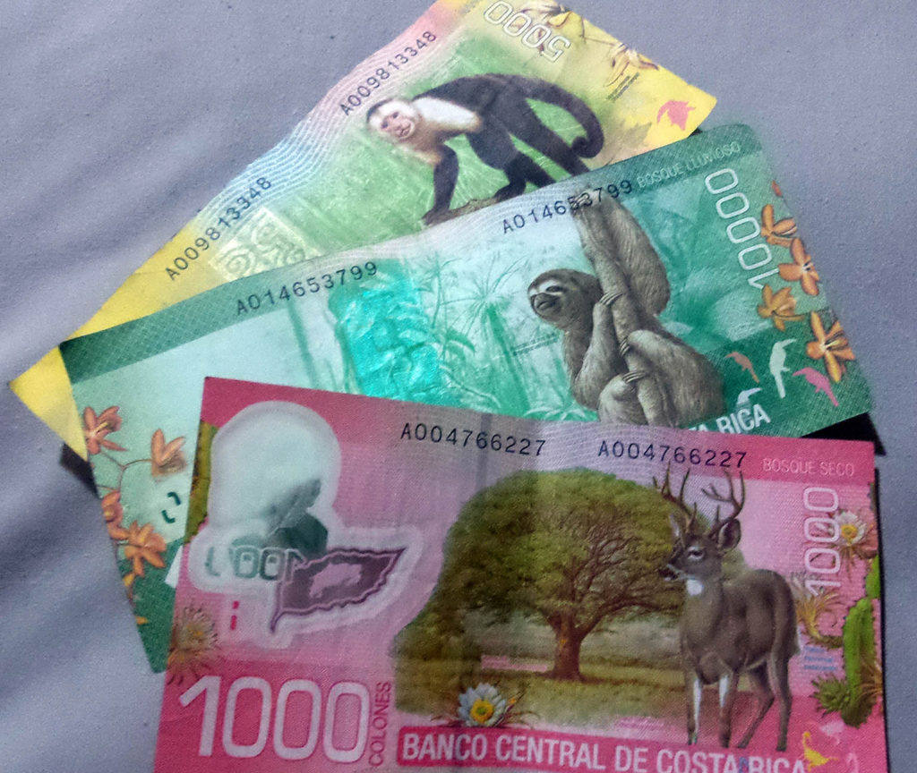 Costa Rican Banknotes