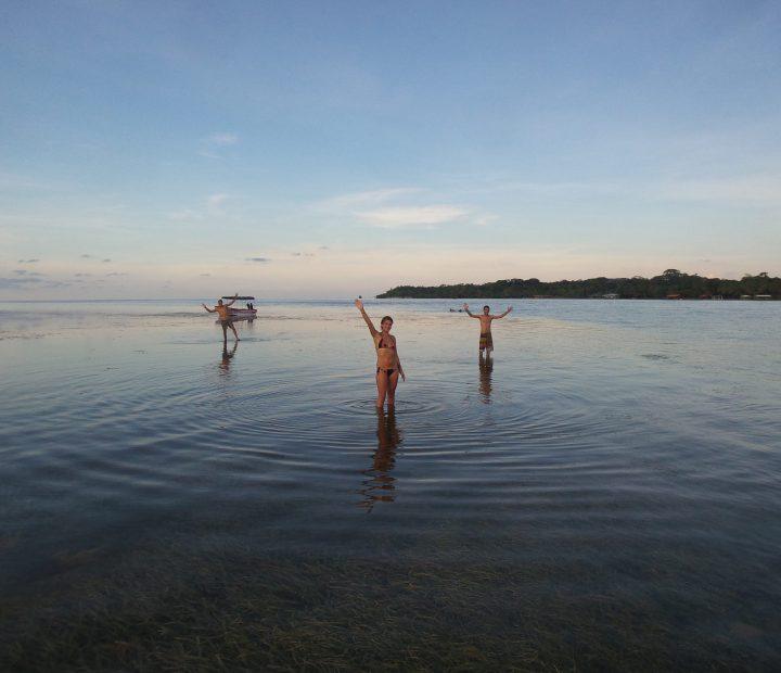 Standing Sunken Island, Bocas Del Toro