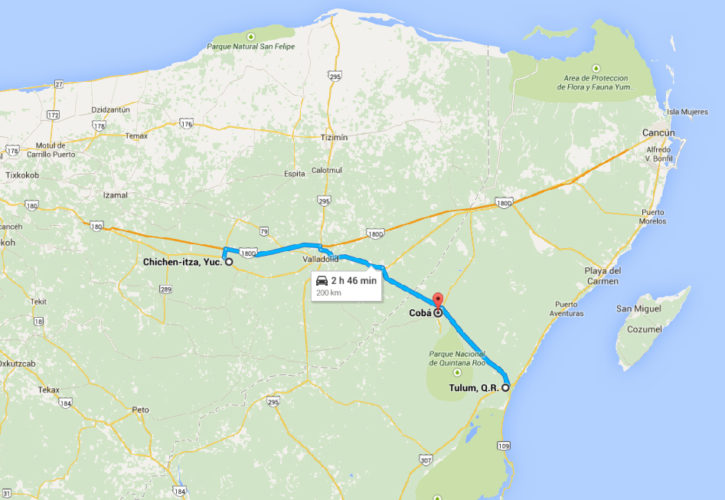 Coba-Map